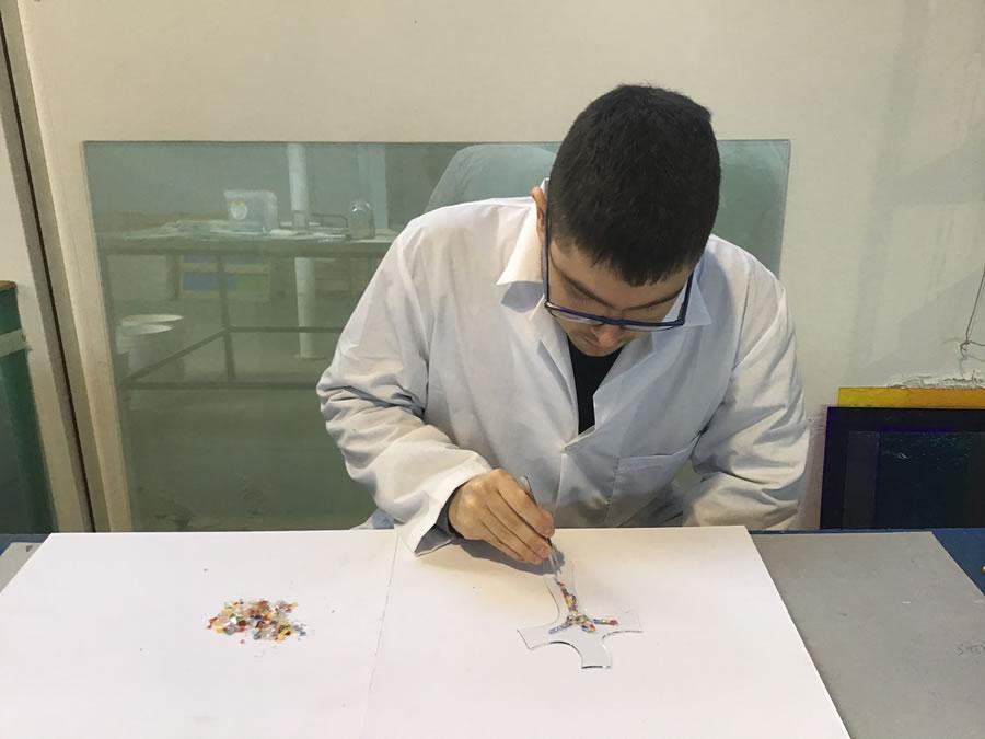Tecnica Frammenti - Murano Glass Shop - Lavorazione