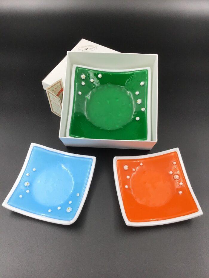 Portacaramelle in vetro di Murano fatto a mano